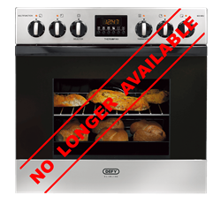 DEFY BUILT IN <BR /> OVEN (S/STEEL) <BR />MODEL: DBO456