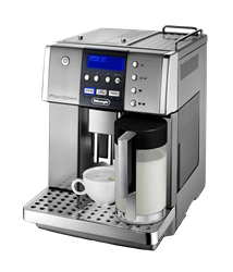 DELONGHI COFFEE MACHINE (METAL) <BR />MODEL: ESAM6600