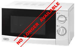 DEFY MANUAL MICROWAVE OVEN DMO348