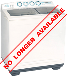 DEFY TWIN TUB WASHING MACHINE (WHITE) MODEL: DTT160