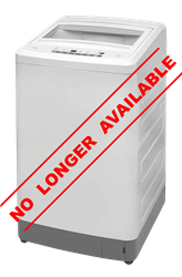 DEFY TOP LOADER WASHING MACHINE (METALLIC) MODEL: WTL13019M