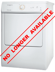ELECTROLUX AIR VENTED TUMBLE DRYER (WHITE) MODEL: EDE37100W