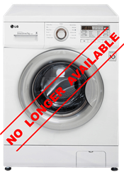LG FRONT <BR />LOADER WASHING MACHINE (WHITE) <BR /> MODEL: F10B9QDP2