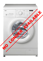 LG FRONT LOADER WASHING MACHINE (WHITE) MODEL: F10C3QDP