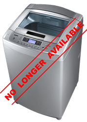 LG TOP LOADER WASHING MACHINE (SILVER) MODEL: T1003TEFT1