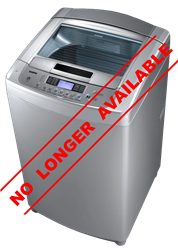 LG TOP LOADER WASHING MACHINE (SILVER) MODEL: T1303TEFT1