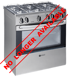 ZERO FULL <BR />GAS STOVE (METALLIC) <BR />MODEL: 6003