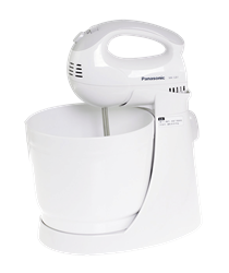 PANASONIC STAND <BR />MIXER (WHITE) <BR />MODEL: MK-GB1WTN