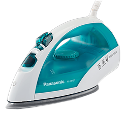 PANASONIC <BR />STEAM IRON (GREEN) <BR />MODEL: NI-E410TMTJ