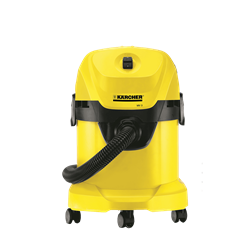KARCHER  VACUUM <BR /> CLEANER (YELLOW) <BR />MODEL: WD3