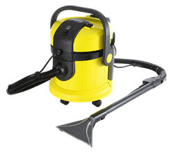KARCHER HARD FLOOR AND CARPET CLEANER (YELLOW) MODEL: SE4001