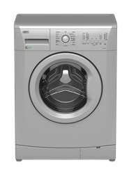 DEFY FRONT <BR /> LOADER WASHING MACHINE (METALLIC) <BR />MODEL: DAW374