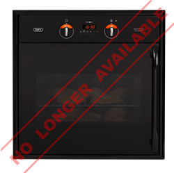 DEFY BUILT IN <BR /> OVEN (BLACK) <BR />MODEL: DBO434