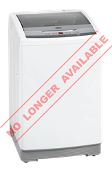 DEFY TOP LOADER WASHING MACHINE (WHITE) MODEL: WTL10019W