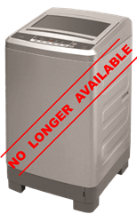 DEFY TOP LOADER WASHING MACHINE (METALLIC) MODEL: WTL8019M