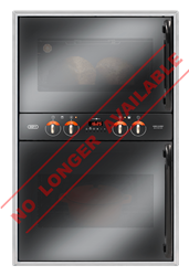 DEFY BUILT IN <BR /> DOUBLE OVEN (METALLIC) <BR />MODEL: DBO437