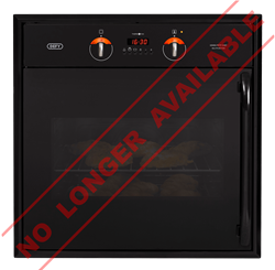 DEFY BUILT IN <BR /> OVEN (BLACK) <BR />MODEL: DBO430