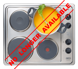 DEFY SOLID PLATE HOB DHD358