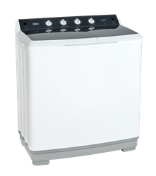 DEFY TWIN <BR /> TUB WASHING MACHINE (WHITE) <BR />MODEL: DTT180