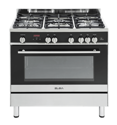 ELBA FULL <BR &#47;> GAS STOVE (BLACK) <BR &#47;>MODEL: 01/9SDX888
