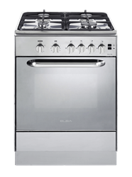 ELBA FULL <BR /> GAS STOVE (S/STEEL) <BR />MODEL: 01/6CX648N