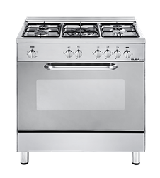 ELBA FULL <BR /> GAS STOVE (S/STEEL) <BR />MODEL: 01/85X822N