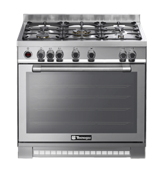 TECNOGAS FULL <BR &$47;> GAS STOVE (S/STEEL) <BR />MODEL: NG1X96G5VC