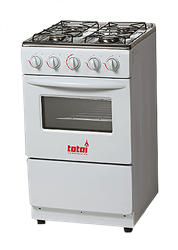 TOTAI FULL <BR /> GAS STOVE (WHITE) <BR />MODEL: 03/T300A