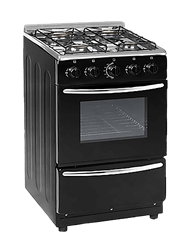 ZERO FULL <BR /> GAS STOVE (BLACK) <BR />MODEL: ZCJH5540B