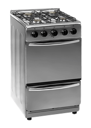 ZERO FULL <BR &#47;> GAS STOVE (SILVER) <BR &#47;>MODEL: ZCJH5540S