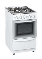 ZERO FULL <BR /> GAS STOVE (WHITE) <BR />MODEL: ZCJH5540W