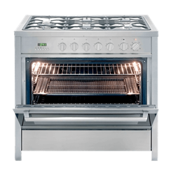 KELVINATOR <BR &#47;> GAS ELECTRIC <BR &#47;> STOVE (S/STEEL) <BR &#47;>MODEL: KC9650TLE
