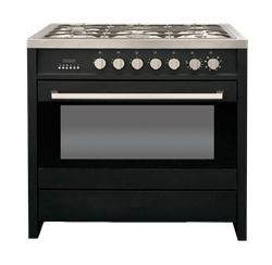 KELVINATOR <BR /> GAS ELECTRIC <BR /> STOVE (BLACK) <BR />MODEL: KC9650BL