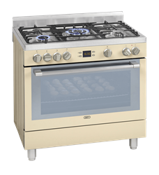 DEFY <BR /> GAS ELECTRIC  <BR /> STOVE (CREAM) <BR />MODEL: DGS162C