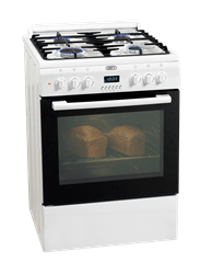 DEFY <BR /> GAS ELECTRIC <BR /> STOVE (WHITE) <BR />MODEL:DGS159