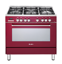 ELBA GAS ELECTRIC STOVE (RED) MODEL: 01/9SEX937R