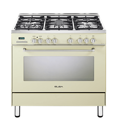 ELBA <BR /> GAS ELECTRIC <BR /> STOVE (CREAM) <BR />MODEL: 01/9SEX937C