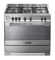 TECNOGAS GAS ELECTRIC STOVE P1X96E5VC