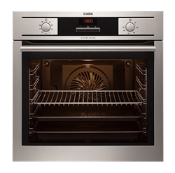 AEG BUILT IN <BR /> OVEN (S/STEEL) <BR />MODEL: BE4003001M