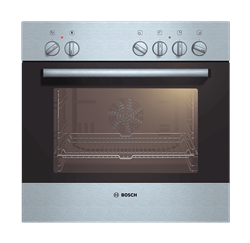 BOSCH  BUILT IN <BR />OVEN (S/STEEL)<BR />MODEL: HEN201E2