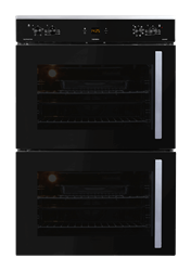 DEFY BUILT IN <BR /> DOUBLE OVEN (BLACK) <BR />MODEL: DBO467