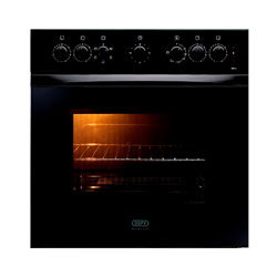 DEFY BUILT IN <BR /> OVEN (BLACK) <BR />MODEL: DBO458