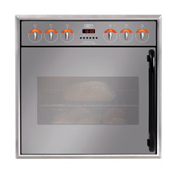 DEFY BUILT IN <BR /> OVEN (METALLIC) <BR />MODEL: DBO432