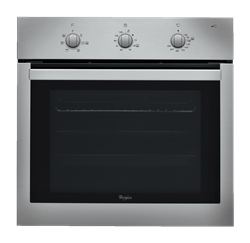 WHIRLPOOL BUILT IN <BR &#47;> OVEN (INOX) <BR &#47;>MODEL: AKP738IX