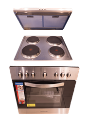 KELVINATOR OVEN, HOB AND EXTRACTOR SET KBU60SS+KH60SS1
