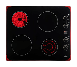 UNIVA CERAMIC <BR &#47:> HOB (BLACK) <BR />MODEL: U156CB