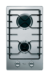 WHIRLPOOL <BR /> GAS HOB (S/STEEL) <BR />MODEL: AKT301/IX