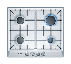 BOSCH <BR />GAS HOB (S/STEEL) <BR />MODEL: PCP615B80Z