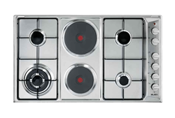 ELBA <BR />GAS HOB (S/STEEL) <BR />MODEL: 02/E95-420X