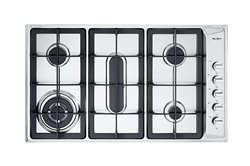 ELBA <BR &#47;> GAS HOB (S&#47STEEL) <BR &#47;>MODEL: 02/E95-555X